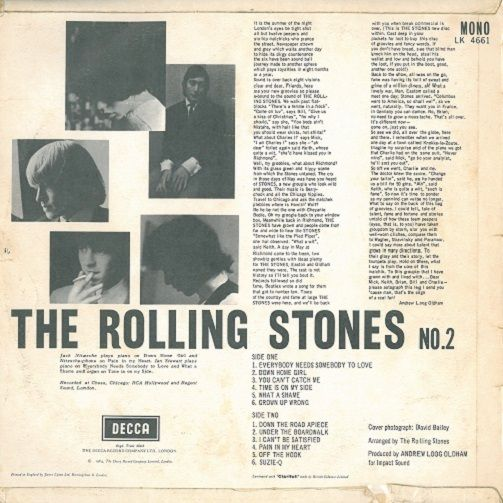 Talk:The Rolling Stones No. 2 - Wikipedia